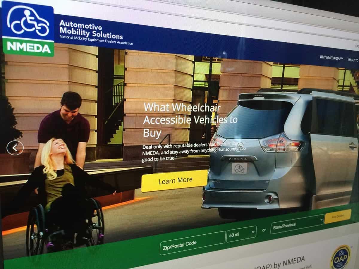 NMEDA Responsive Website