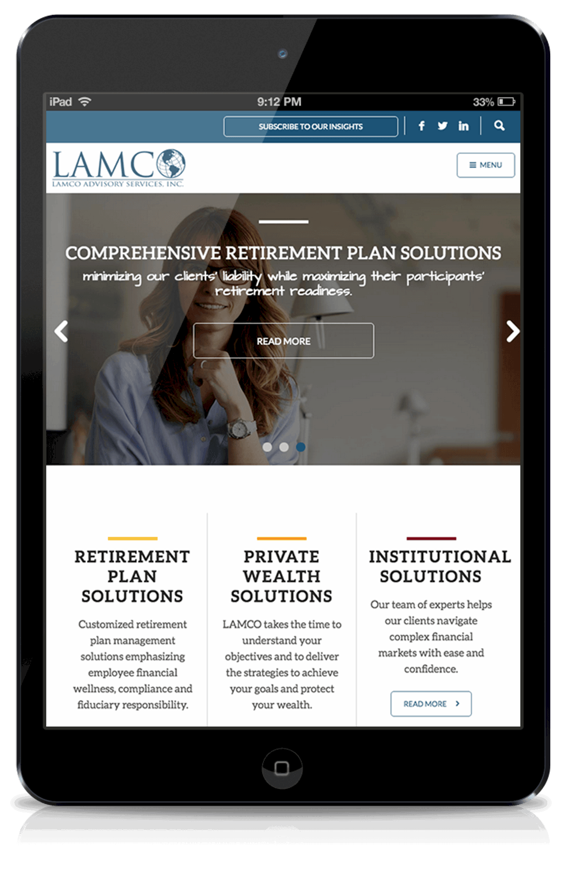 lamco-responsive-website