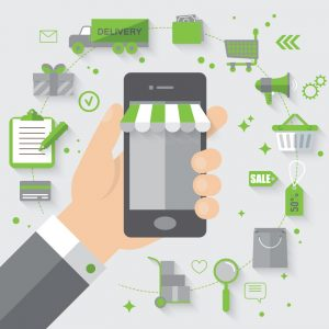 consumers, smartphone, device, store, pocket