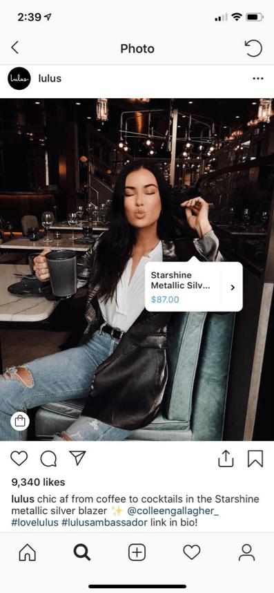 Shoppable Social Media with Lulus