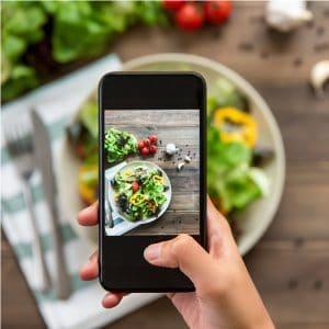 Social influencer for restaurant