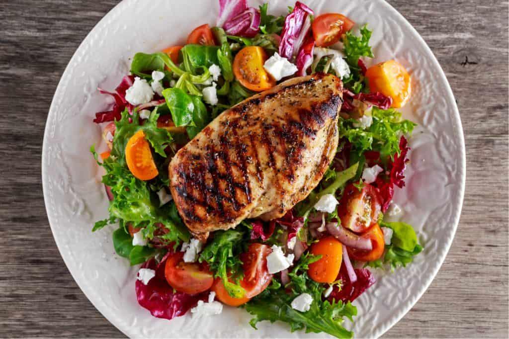 healthy menu items