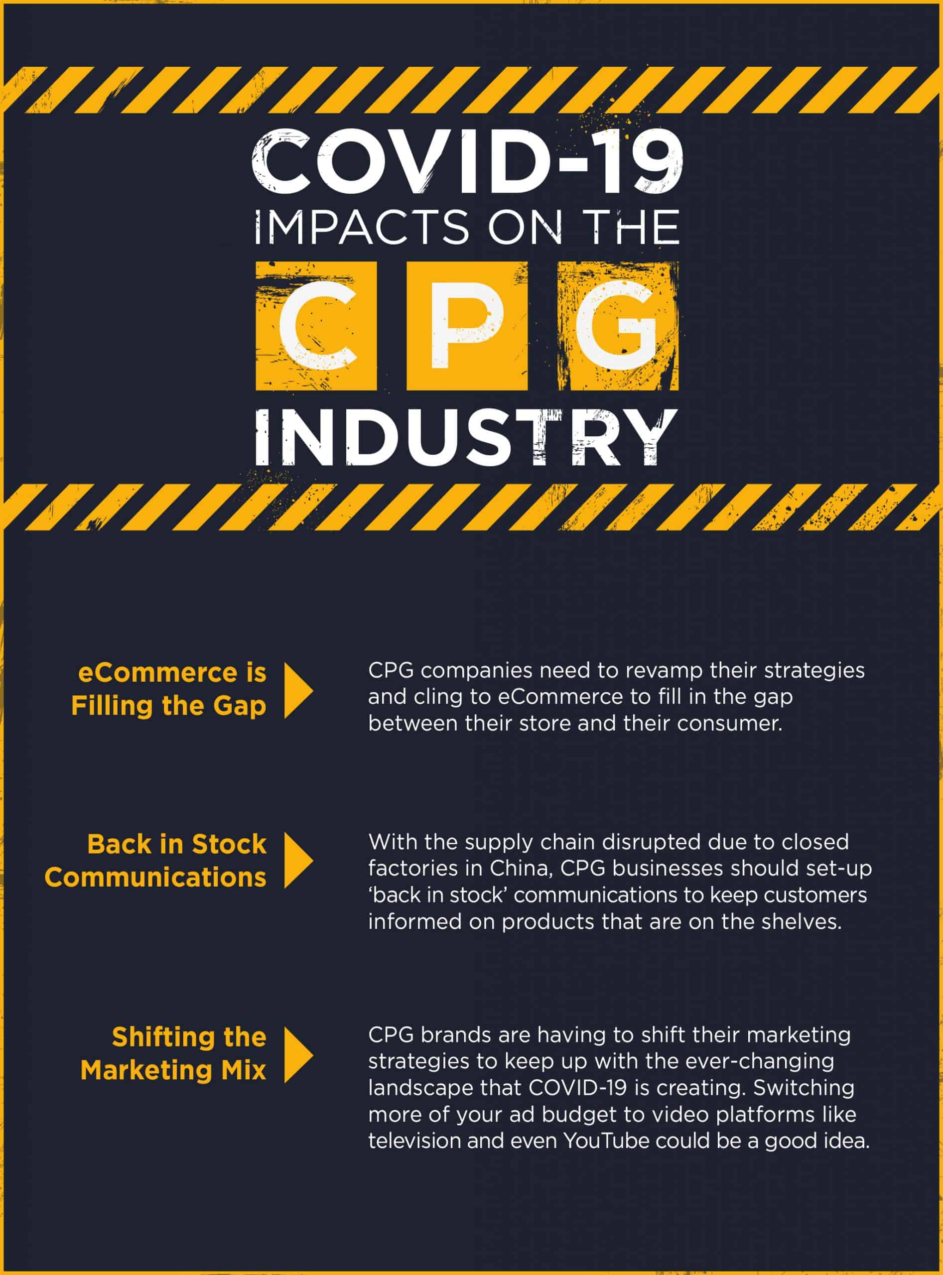 COVID-19 Impacts on the CPG Industry
